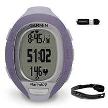 GARMIN FR 60 Lilac with HRM and ANT stick Women