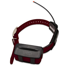 GARMIN TT 10 Burgundy GPS Dog Tracking and Training Collar with charging clip and 90 day wty