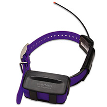 GARMIN TT 10 Purple GPS Dog Tracking and Training Collar with charging clip and 90 day wty