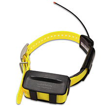 GARMIN TT 10 Yellow GPS Dog Tracking and Training Collar with charging clip and 90 day wty