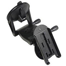 GARMIN Automotive windshield mounting bracket with suction cup