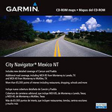 GARMIN City Navigator Mexico NT, SD Card