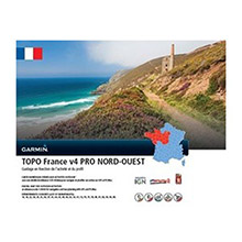 GARMIN TOPO France Nord-Ouest v4 PRO on SD card