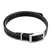 GARMIN 3/4 in Collar Strap Black for delta, mini t5, tt15