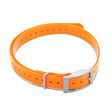 GARMIN 3/4 in Collar Strap Orange for delta, mini t5, tt15