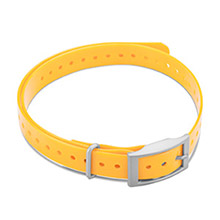 GARMIN 3/4 in Collar Strap Yellow for delta, mini t5, tt15