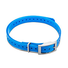 GARMIN 3/4 in Collar Strap Blue for delta, mini t5, tt15