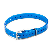GARMIN 3/4 in Roller Buckle Collar Strap Blue for delta, mini t5, tt15