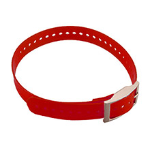 GARMIN Collar Strap Red
