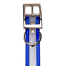 GARMIN Reflective Collar Strap Blue for DC 40