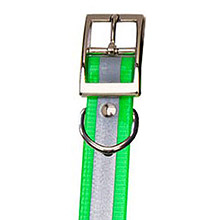 GARMIN Reflective Collar Strap Light Green