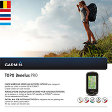 GARMIN TOPO BeNeLux PRO, DVD and SD card