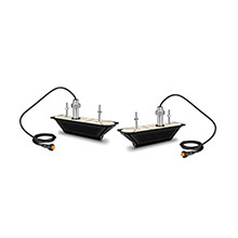 GARMIN GT30-THP Pair of Thru-hull DownVu/SideVu Transducers 12-pin