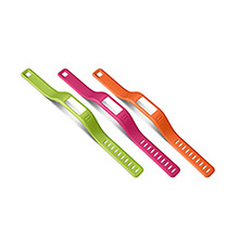 GARMIN Vivofit Large Orange, Pink, Green Bands