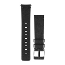 GARMIN Black Leather Watch Band for vivomove