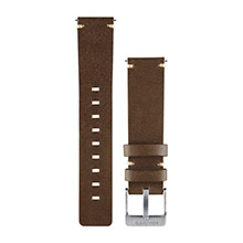 GARMIN Dark Brown Leather Watch Band for vivomove