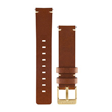 GARMIN Light Brown Leather Watch Band for vivomove