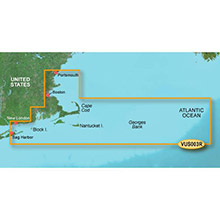 GARMIN US, Cape Cod, (VUS003R) BlueChart g2 Vision HD map