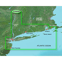 GARMIN US, New York, (VUS004R) BlueChart g2 Vision HD map