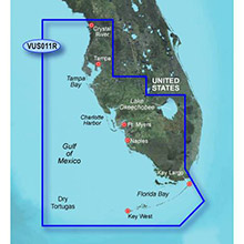 GARMIN US, Southwest Florida, (VUS011R) BlueChart g2 Vision HD map