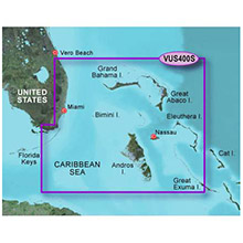 GARMIN US, Walkers Cay to Exuma Sound, (VUS400S) BlueChart g2 Vision HD map