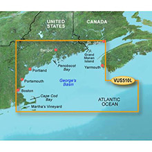 GARMIN US, St. John - Cape Cod, (VUS510L) BlueChart g2 Vision HD map