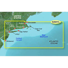 GARMIN US, Boston - Atlantic City, (VUS511L) BlueChart g2 Vision HD map