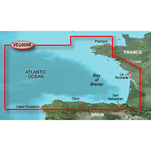GARMIN Europe, Bay of Biscay, (VEU008R), BlueChart g2 Vision HD map