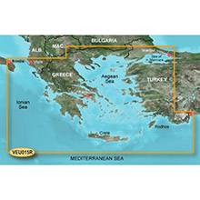 GARMIN Europe, Aegean Sea and Sea of Marmara, (VEU015R), BlueChart g2 Vision HD map