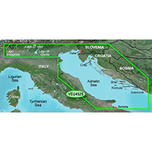 GARMIN Europe, Adriatic Sea, North Coast, (VEU452S), BlueChart g2 Vision HD map