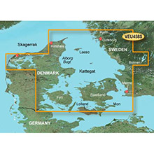 GARMIN Europe, Goteborg to Fyn, (VEU458S), BlueChart g2 Vision HD map