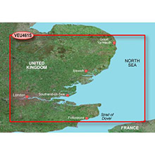 GARMIN Europe, Thames Estuary, (VEU461S), BlueChart g2 Vision HD map