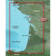 GARMIN Europe, La Baule to San Sebastian, (VEU465S), BlueChart g2 Vision HD map
