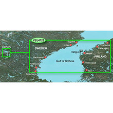 GARMIN Europe, Gulf of Bothnia, Center, (VEU472S), BlueChart g2 Vision HD map