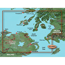 GARMIN Europe, Ross of Mull to Killough, (VEU480S), BlueChart g2 Vision HD map