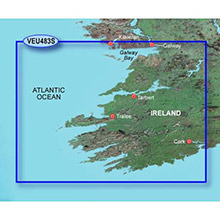 GARMIN Europe, Galway Bay to Cork, (VEU483S), BlueChart g2 Vision HD map