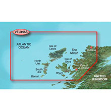 GARMIN Europe, Outer Hebrides and Skye, (VEU496S), BlueChart g2 Vision HD map