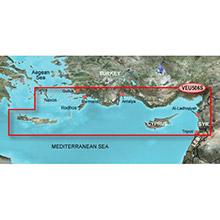 GARMIN Europe, Crete To Cyprus, (VEU506S), BlueChart g2 Vision HD map