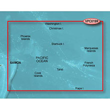 GARMIN Polynesia, (VPC019R), BlueChart g2 Vision HD map