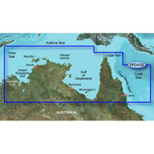 GARMIN Australia, Admiralty G. WA to Cairns, (VPC412S), BlueChart g2 Vision HD map