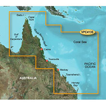 GARMIN Australia, Mornington I.-Hervey Bay, (VPC413S), BlueChart g2 Vision HD map