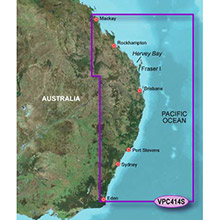 GARMIN Australia, Mackay to Twofold Bay, (VPC414S), BlueChart g2 Vision HD map
