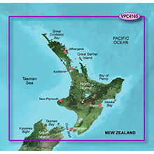 GARMIN New Zealand North, (VPC416S), BlueChart g2 Vision HD map