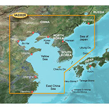 GARMIN Asia, Yellow Sea, (VAE002R), BlueChart g2 Vision HD map