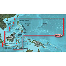 GARMIN Asia, Philippines-Java-Mariana Is. (VAE005R) BlueChart g2 Vision HD map