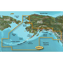 GARMIN Alaska South, (VUS517L) BlueChart g2 Vision HD map