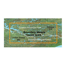 GARMIN Boundary Waters Inland Lakes SD card