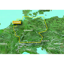 GARMIN Europe - Germany Inland Waters, (HXEU060R), BlueChart g2 HD map on SD Card