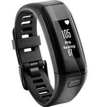 GARMIN Fitness Band Vivosmart HR Blk REFURB