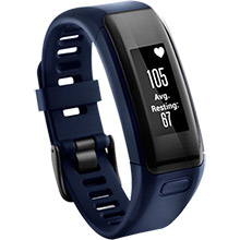 GARMIN Fitness Band Vivosmart HR BLU REFURB